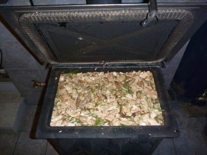 Sedore Biomass Stove - Wood Chips