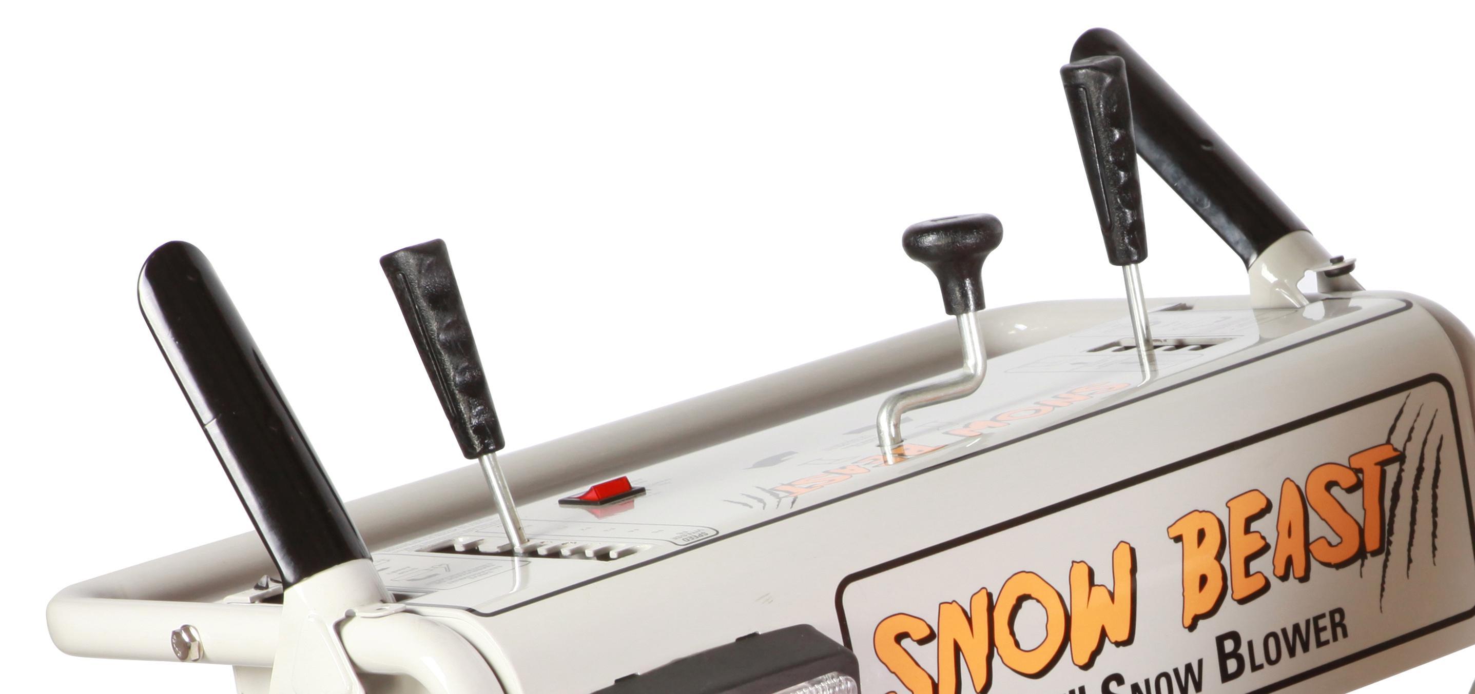 Snow Beast Snow Blower - Hand Control Detail