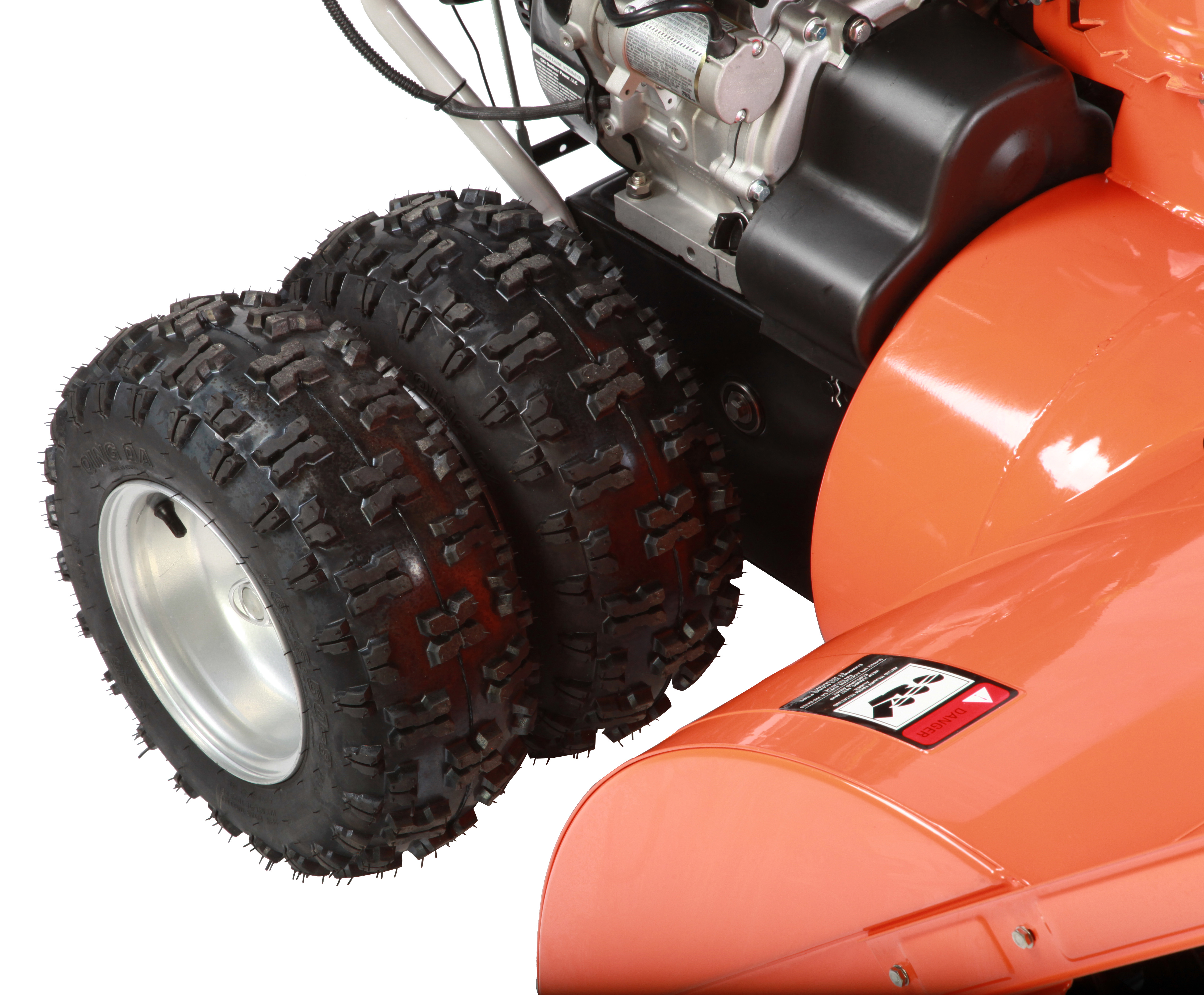 Snow Beast 45SB Snow Blower - Dual Wheel View