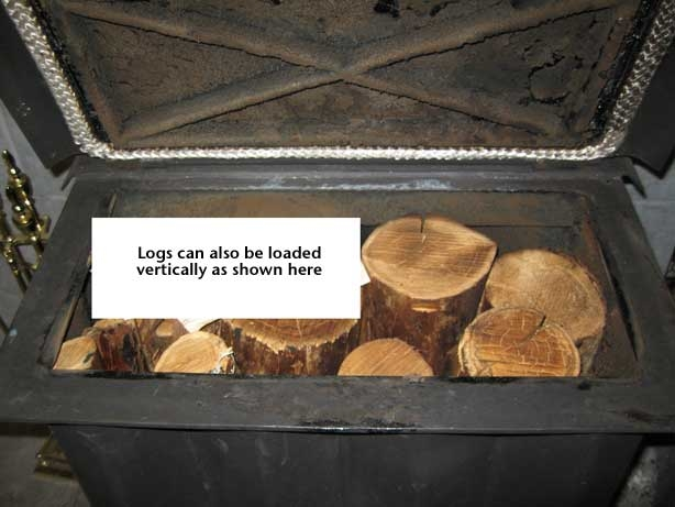Sedore Biomass Stove - Vertical Feed Logs
