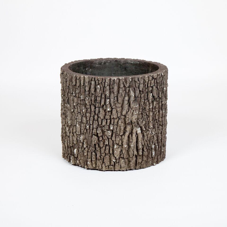 Surreal V3-LOGPLANTER Vertical Oak Planter