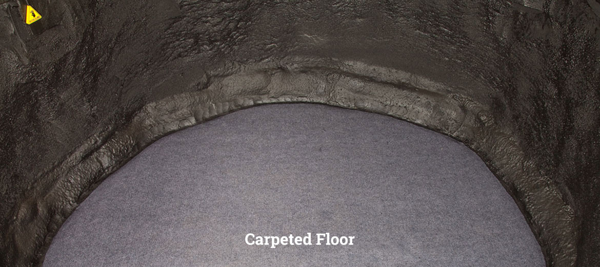 NATURE BLINDS Hunting Blind - carpeted floor