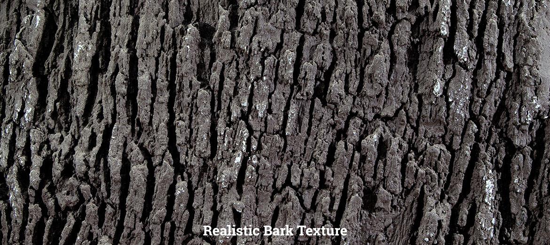 NATURE BLINDS Big Oak Wildlife Feeder - realistic bark texture