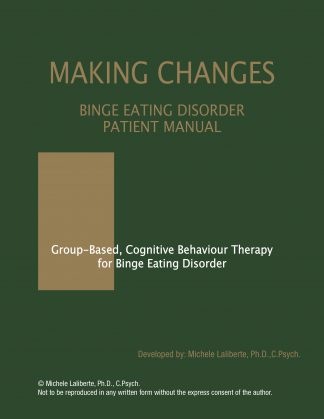 Binge Eating Disorder Patient Manual