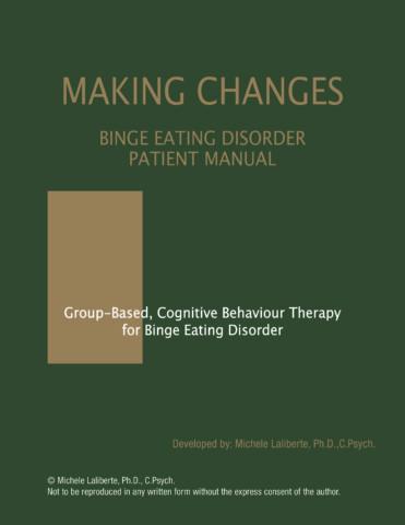 Binge Eating Disorder Patient Manual