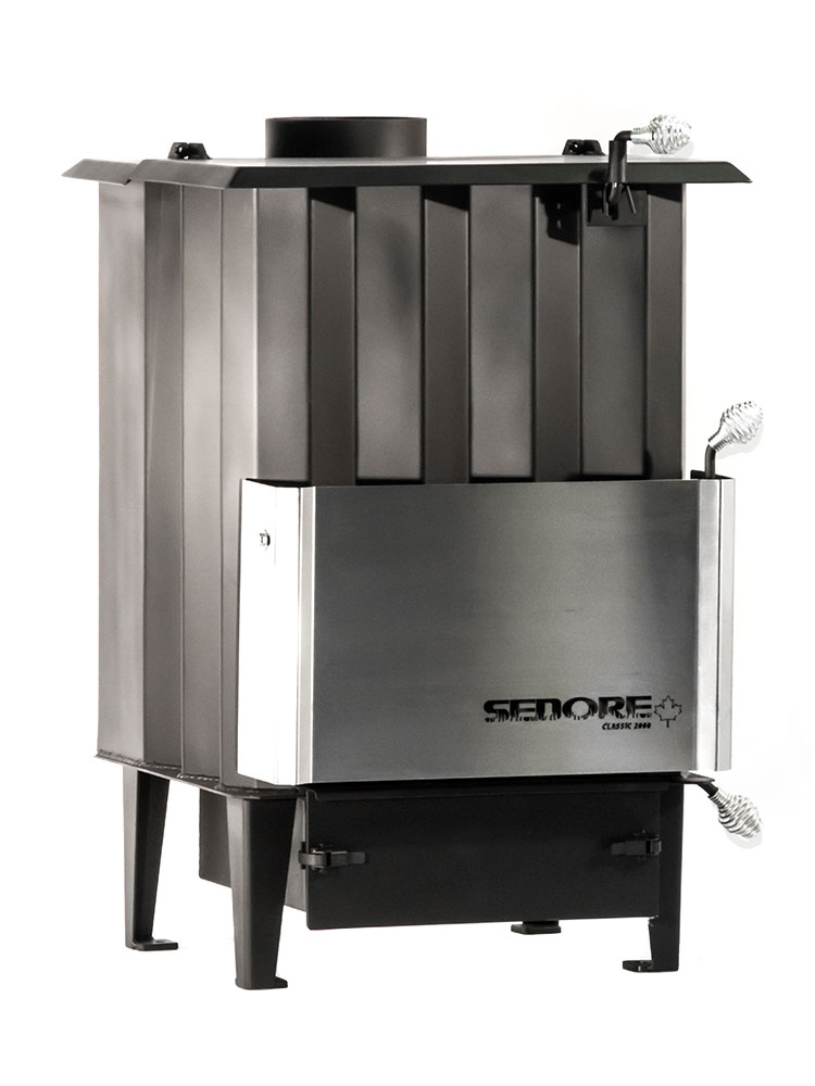 Sedore Classic 2000 Multi-Fuel Biomass Stove Right
