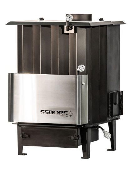 Sedore Classic 3000 Multi-Fuel Biomass Stove Left