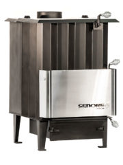 Sedore Classic 3000 Multi-Fuel Biomass Stove Right