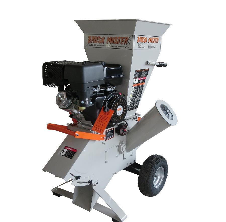 Brush Master CH4 Chipper Shredder