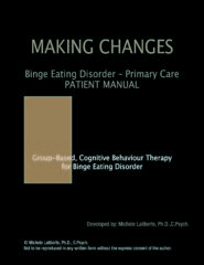 Binge Eating Disorder Primary Care Patient Manual