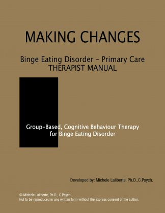 Binge Eating Disorder Primary Care Therapist Manual