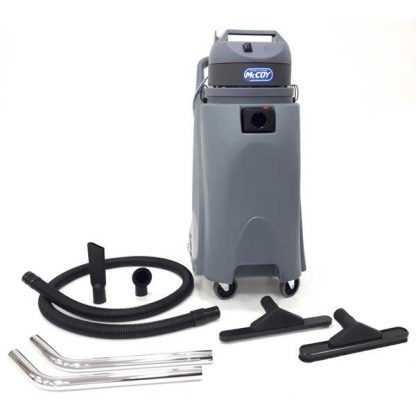 McCoy 100L (26 gal) Heavy-Duty Pro Wet/Dry Vacuum with Attachments