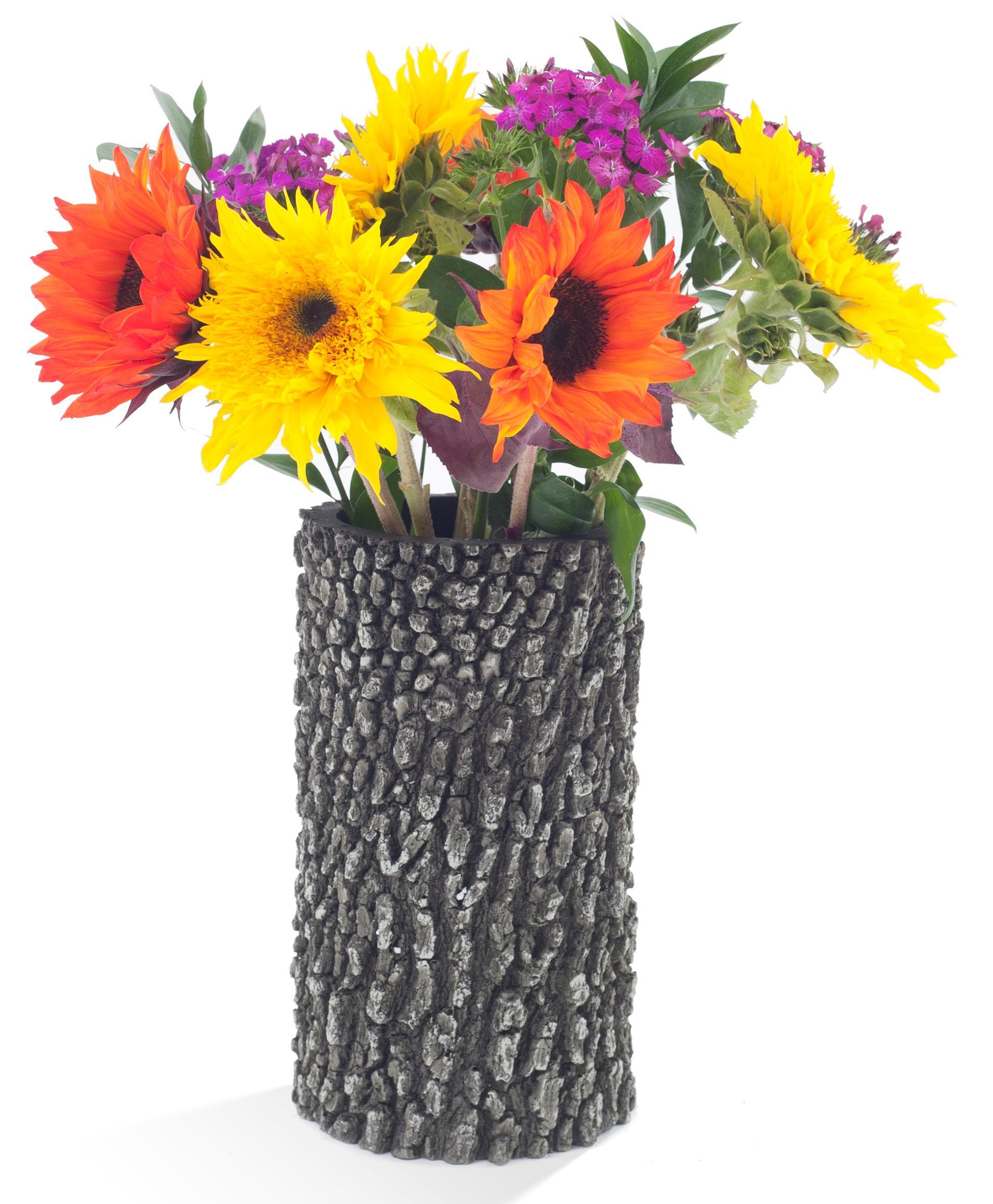 """SURREAL 12"""" Oak Vase - summer"""