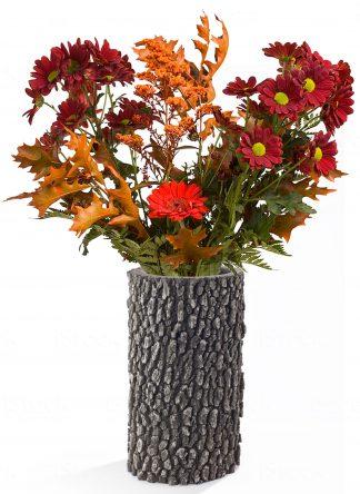 """SURREAL 12"""" Oak Vase - fall"""