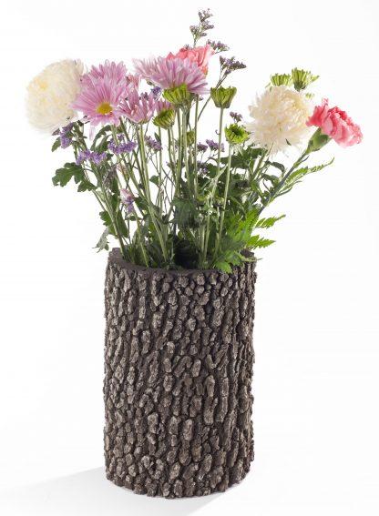 """SURREAL 12"""" Oak Vase - spring"""