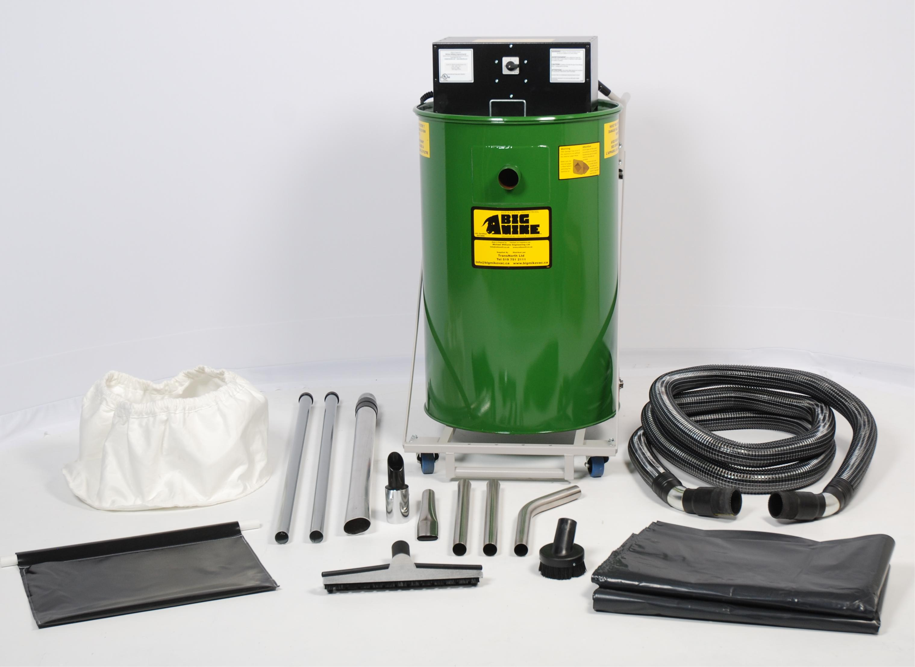 Popular Industrial Vacuum with Accessories