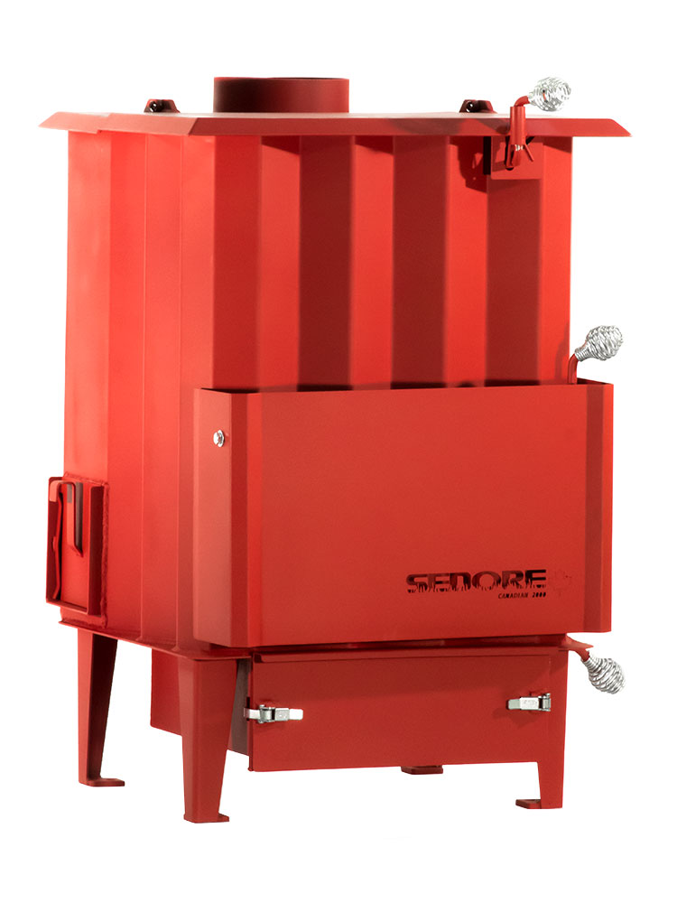 Sedore Cdn 2000 Multi-Fuel Biomass Stove Right