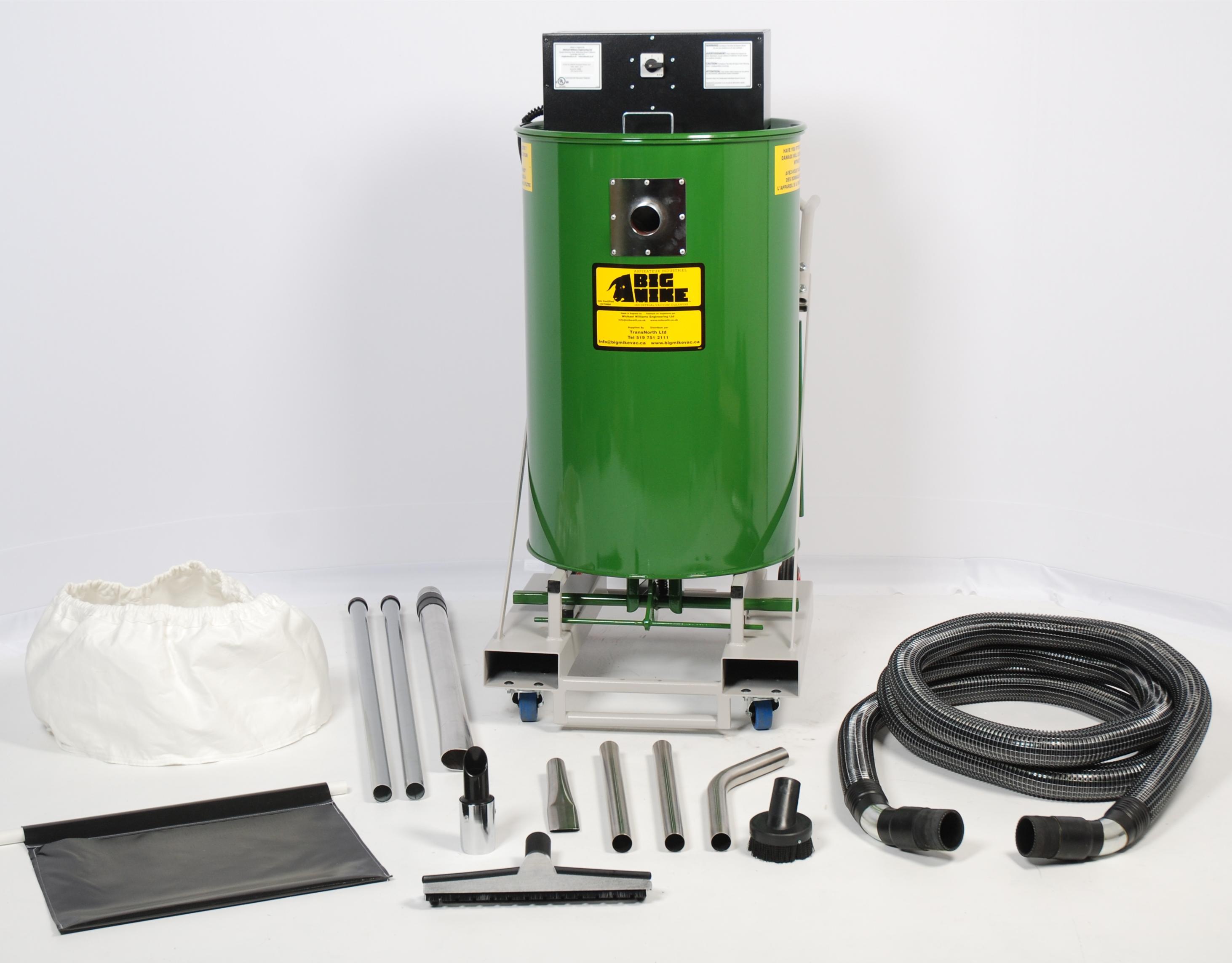 Suck & Dump Industrial Vacuum with Accessories