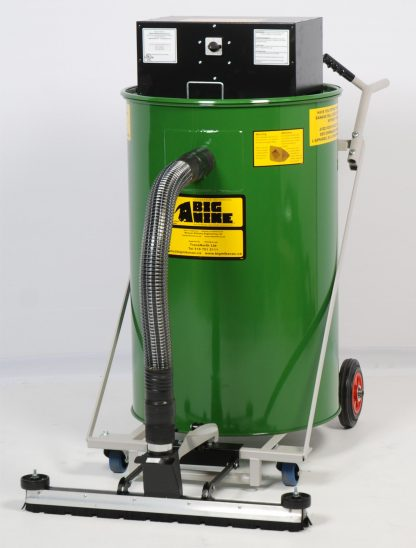 Warehouseman Industrial Vacuum Left View
