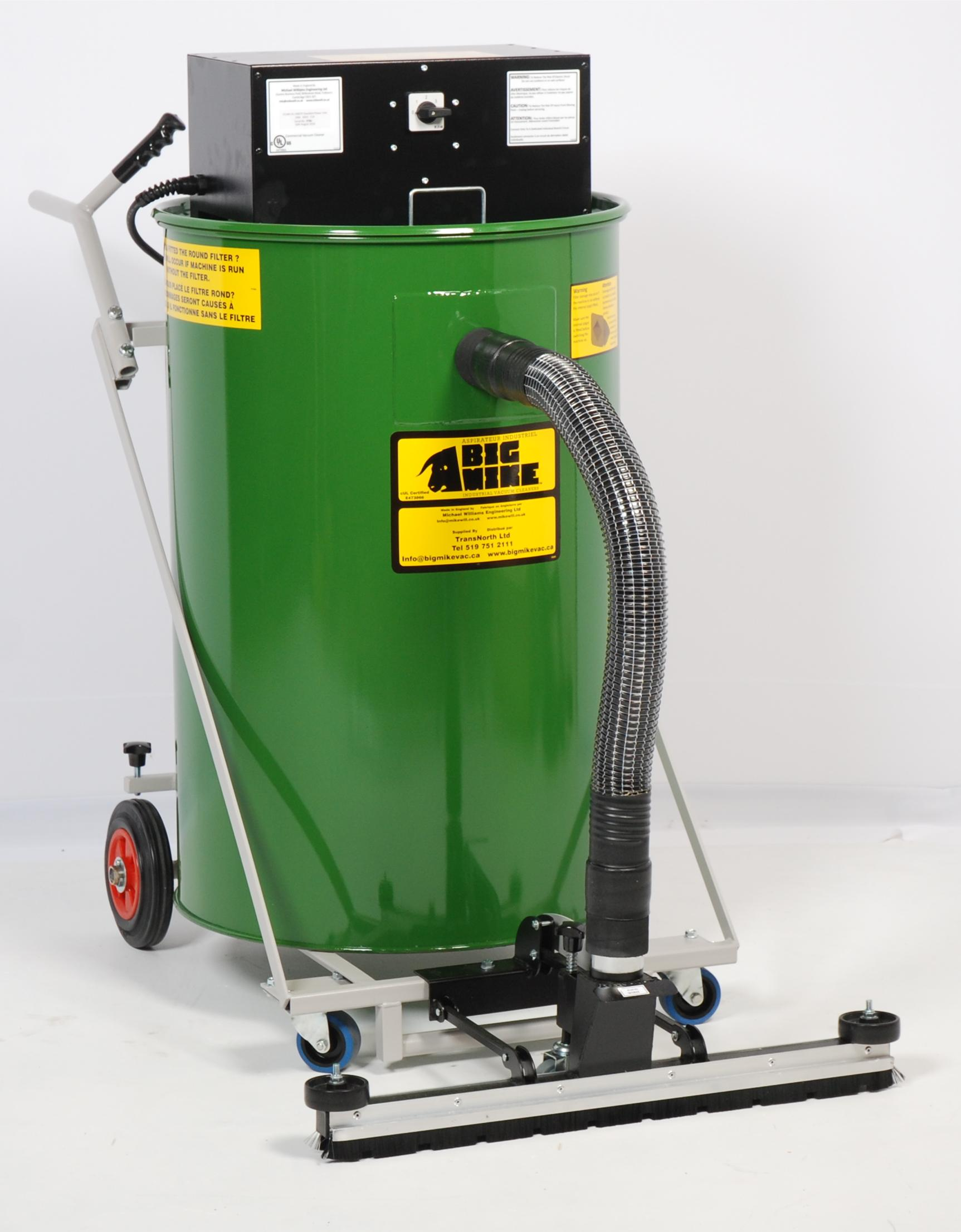 BIG MIKE Dry-Only Warehouseman Industrial Vacuum Right View