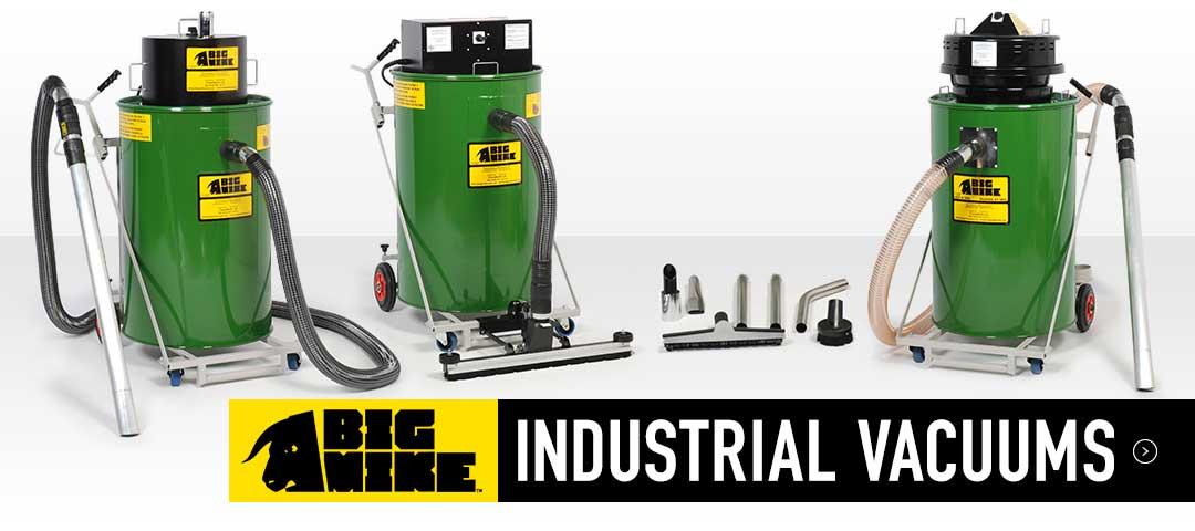 Big Mike Industrial Vacuums