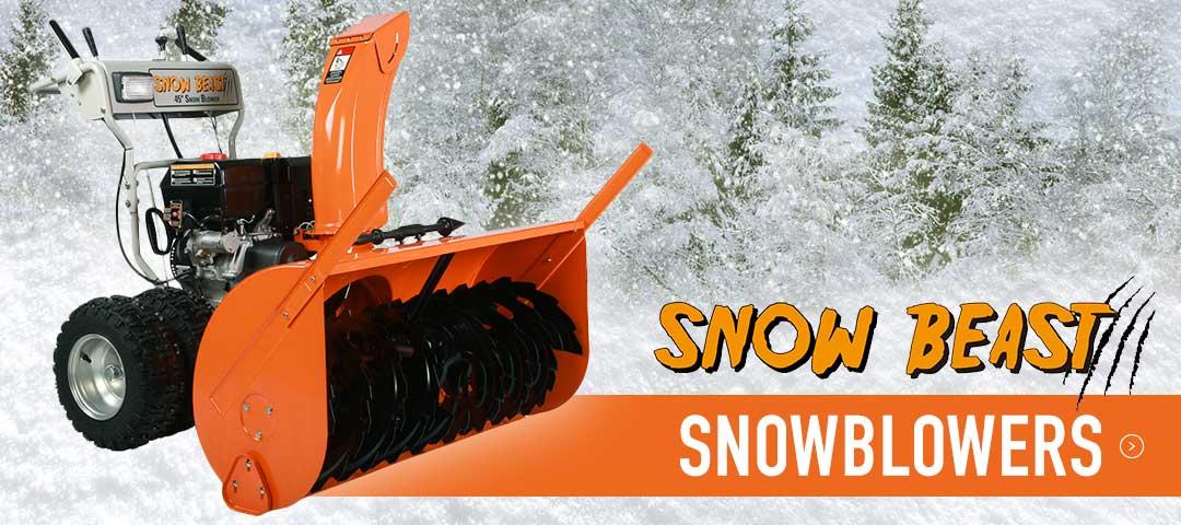 Snowbeast Snowblowers at TransNorth